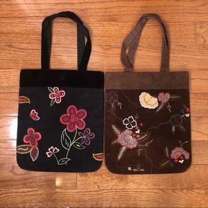 Handbags - Lot of 2 BoHo Tote bags